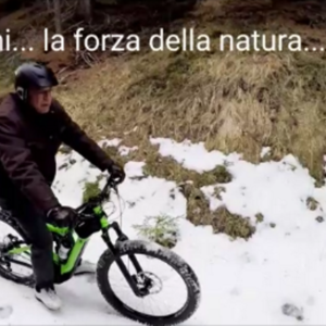 Mountainbike with Granfather